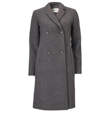 Modstrom Odelia coat dark grey melange