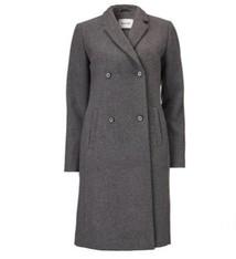 Odelia coat dark grey melange