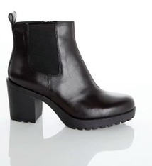 Grace Black Leather