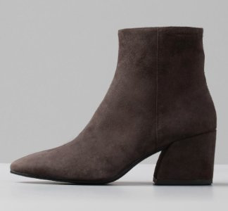 Olivia Dark grey suede
