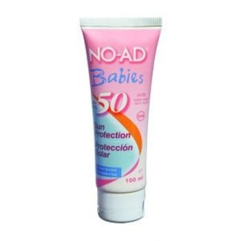 NO-AD Zonnebrand Lotion 100ml SPF50+ Bab