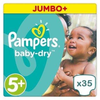 Pampers Baby Dry maat 5+ - 136 luiers