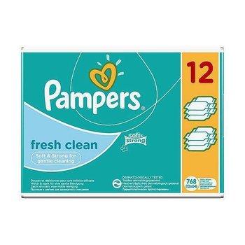 Pampers Fresh billendoekjes 12x64