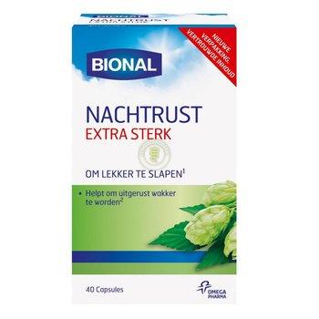 Bional Nachtrust Extra Sterk - 40 capsules