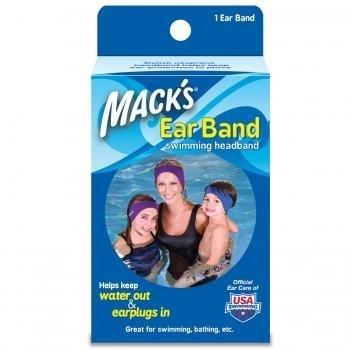 Mack's Wax Earband Swimming Headband