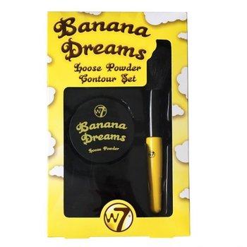 W7 Banana Dreams loose powder contour geschenkset