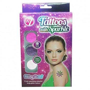 W7 Tattoos with Sparkle Set