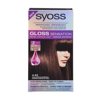 Syoss Gloss Sensation Haarverf 4-82 Granaat Chocolade