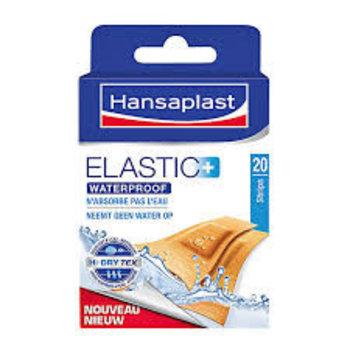 Hansaplast 20 Strips Elastic Waterproof