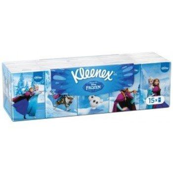 Kleenex Zakdoeken Frozen 15 x 7 stuks
