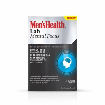 Men's Health Mental Focus - 40 Capsules