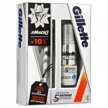 Gillette Cadeauset Mach3 App+ Gel 75 ml