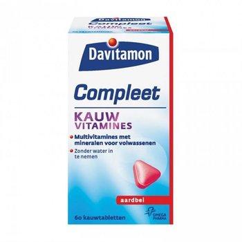 Davitamon Compleet Weerstand  Aardbei - 60 stuks