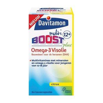 Davitamon MultiBoost Plus 12+ Omega3 - 60 capsules