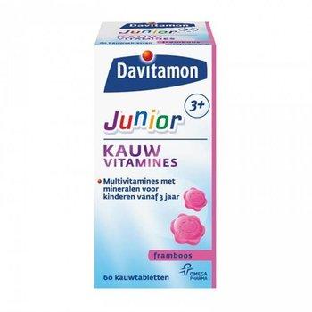 Davitamon Junior 3+ Kauw  Framboos - 60 stuks