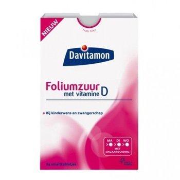 Davitamon Foliumzuur + Vit D -  84 smelttab