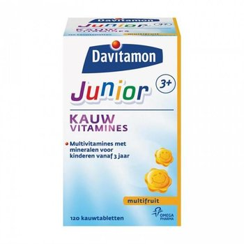 Davitamon Junior 3+ Multifruit - 120 kauwtabletten