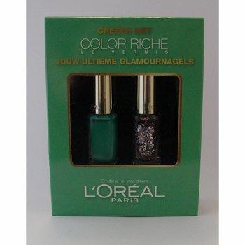 L'oreal ** Cadeauset Color Riche Groen