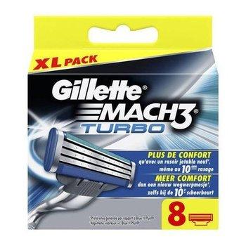 Gillette Mach 3 Turbo scheermesjes - 8 stuks
