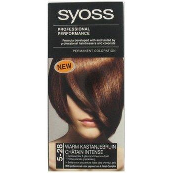 Syoss Haarverf 5-28 Warm Kastanjebruin
