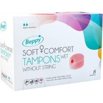 Beppy Soft-Comfort Tampons Wet 4 stuks