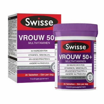 Swisse Ultivite Vrouw 50+  Multivit.30 t