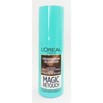 loreal Magic Retouch Middenbruin - 75 ml