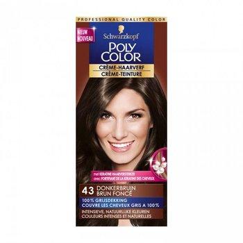 Poly Color Haarverf 43 Donkerbruin