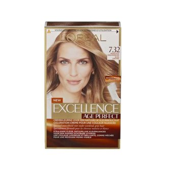 Loreal Excellence Age Perfect 7.32 Midden Goud