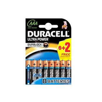 Duracell Ultra Power AAA 6+2 Gratis