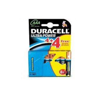 Duracell Ultra Power AAA 4+4 stuks