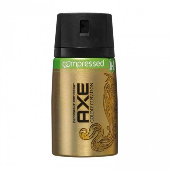 Axe Axe Deodorant Compressed Gold Temptation - 100ml