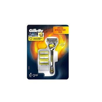Gillette Fusion ProShield Houder + 3 Scheermesjes