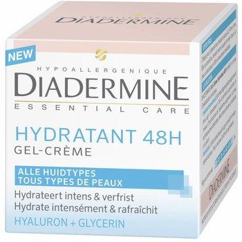 Diadermine Essential Care Hydratant 48h Gel Crème 50 ml -1 stuk