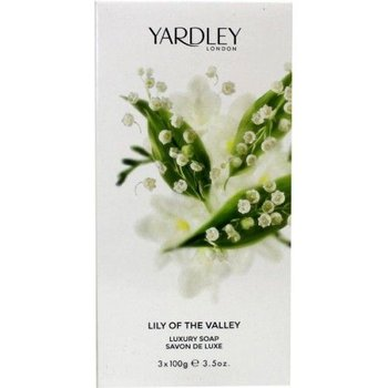 Yardley Zeep Lily of the Valley - 3x100gram