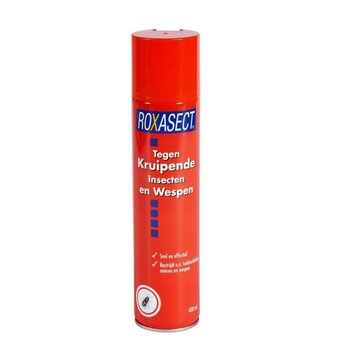Roxasect  Kruipende Insecten en Wespen Spray - 400 ml