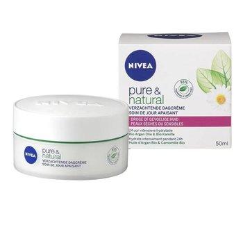 Nivea Visage Pure&Natural Dagcreme Droge/Gevoelige huid - 50ml
