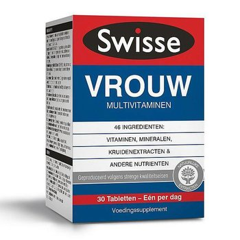 Swisse Ultivite Vrouw Multivitaminen - 30 tabletten