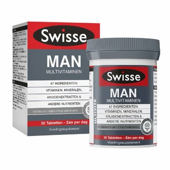 Swisse Ultivite Man Multivitaminen - 30 tabletten
