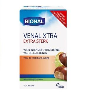 Bional Venal Xtra Extra Sterk - 40 capsules