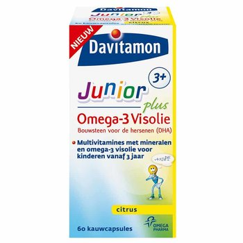 Davitamon Junior Plus 3+ Omega3 - 60 capsules