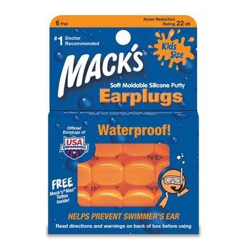 Mack's Earplugs KIDS - 6 paar