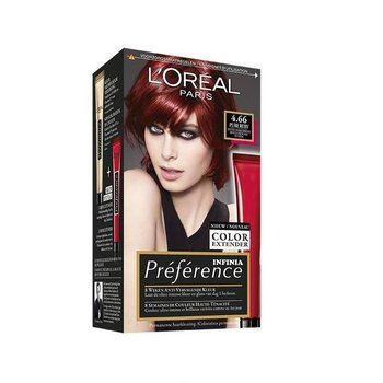 Loreal Preference Feria Color  6.66 Pure Scarlet