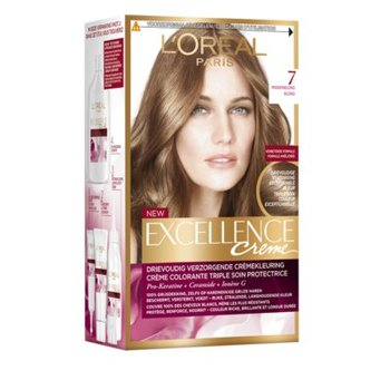 Loreal Excellence  7 Middenblond