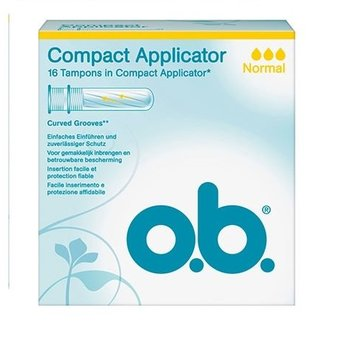 OB Applicator Compact Normaal - 16 stuks
