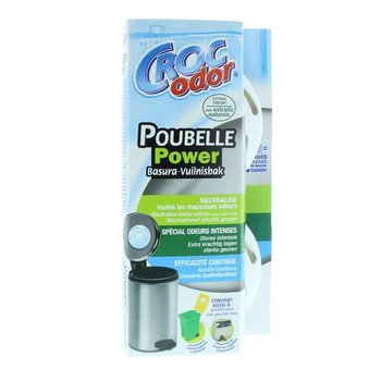 Croc'Odor Poubelle Power - 2 stuks
