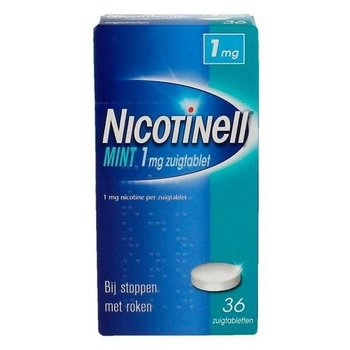 Nicotinell Zuigtablet Mint 1mg -  36 zuigtabletten