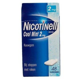 Nicotinell Kauwgom Cool Mint 2mg  - 48 stuks