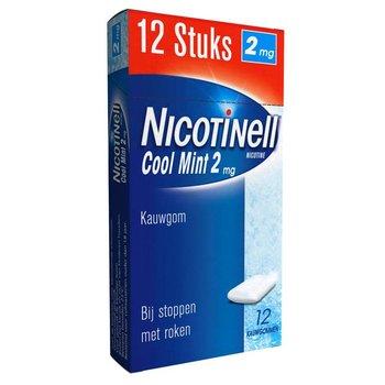 Nicotinell Coolmint kauwgum  - 12 stuks