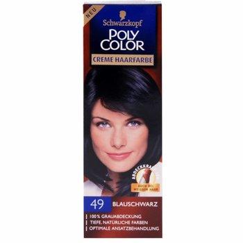 Poly Color Creme Haarverf 49 blauw zwart